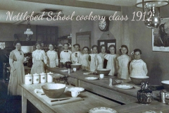 scanNettlebed School 1912 Cookery Class0001 copy